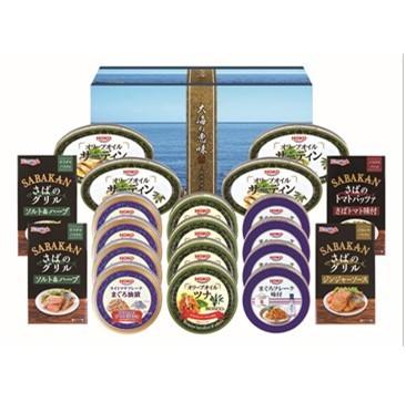〔送料無料〕〔直送〕【2021夏ギフト】缶詰バラエティセット (146)
