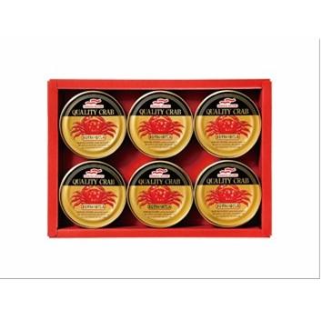 〔送料無料〕〔直送〕【2021夏ギフト】マルハニチロ まるずわいがに缶詰詰合せ (945)