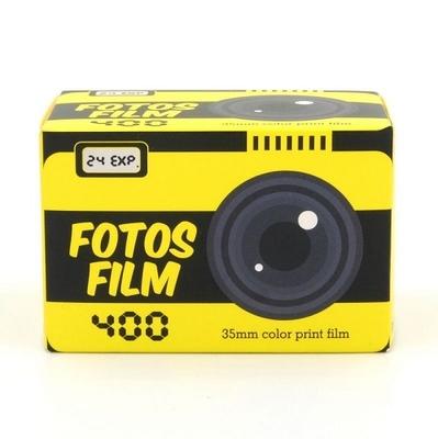 カラーネガフィルム FOTOS FILM・フォトス フィルム 400-135-24枚撮り  【ポイント10%還元】