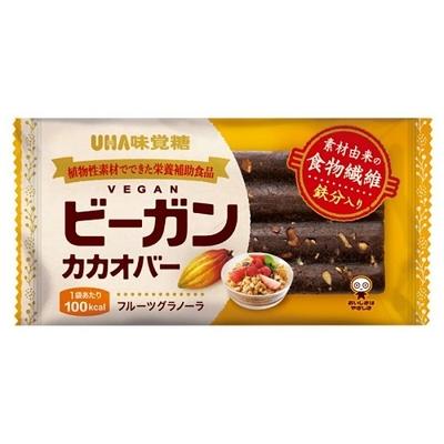 UHA味覚糖 ビーガンカカオバー フルーツグラノーラ 27.6g