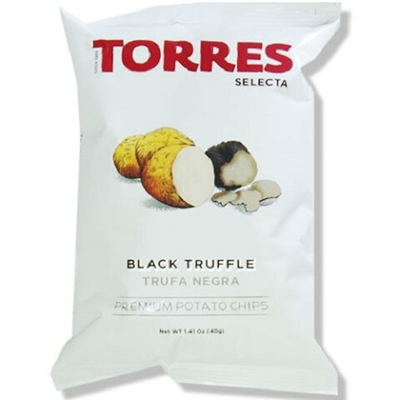 TORRES トーレス 黒トリュフ ポテトチップス 40g