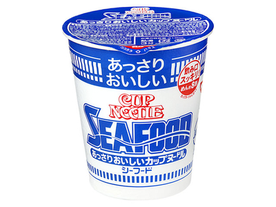 日清食品 おいしいカップヌードル シーフード カップ 60g
