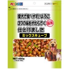 ペットライブラリー ペット工房 ミックスキューブ450g  【ポイント10%還元】