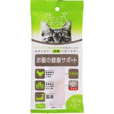ペットライブラリー ピュアボウル お腹の健康サポート 全猫種用20g×4