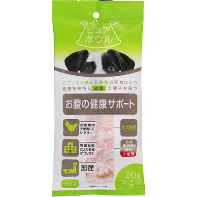 ペットライブラリー ピュアボウル お腹の健康サポート 全犬種用20g×4  【ポイント10%還元】