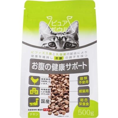 ペットライブラリー ピュアボウル お腹の健康サポート 成猫用500g