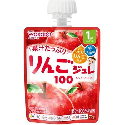 和光堂1歳からのMYジュレドリンク りんご100 70g