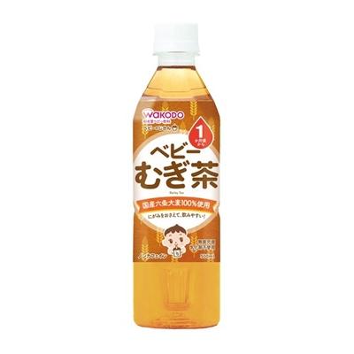 ベビーのじかん むぎ茶 ¥180  500ML