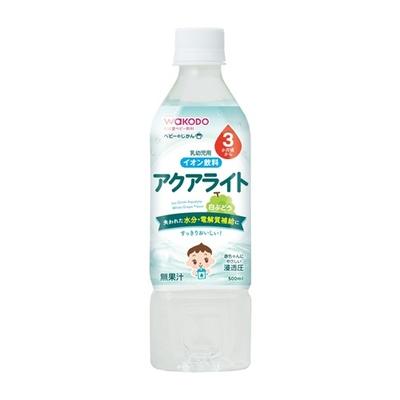 ベビーのじかん アクアライト 白ぶどう ¥180  500ML