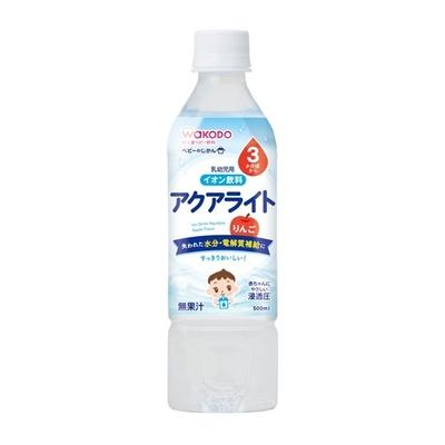 ベビーのじかん アクアライト りんご ¥180  500ML