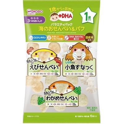 バラエティパック 海のおせんべい&パフ ¥オープン  6包