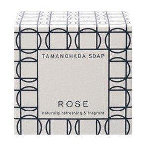 TAMANOHADA SOAP ROSE|玉の肌 石鹸 ローズ|タマノハダ セッケン ローズ