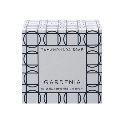 TAMANOHADA SOAP GARDENIA|玉の肌 石鹸 ガーデニア|タマノハダ セッケン ガーデニア