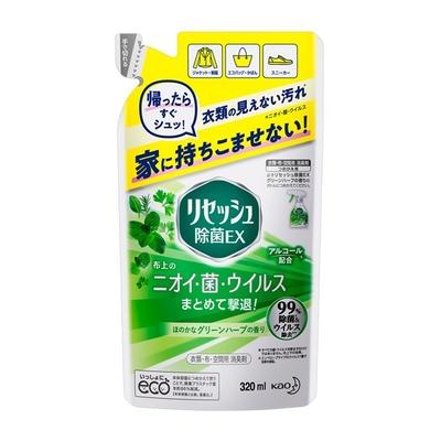 リセッシュ除菌EXグリーンハーブの香り つめかえ用 320ml