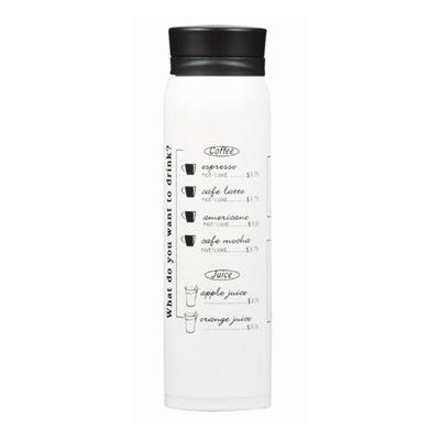 カフェマグメニュー マグボトル480ml ホワイトHB-3493