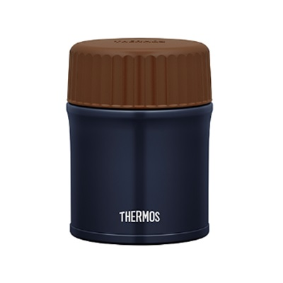 ★THERMOS(サーモス) 真空断熱スープジャー380ml ネイビー JBU-380-NVY