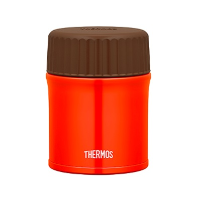 ★THERMOS(サーモス) 真空断熱スープジャー380ml レッド JBU-380-R
