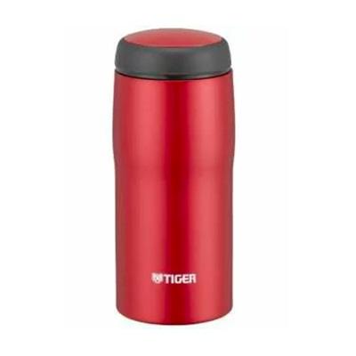 ★TIGER(タイガー) 日本製ステンレスボトル360ml マットレッドMJA-B036-RMF