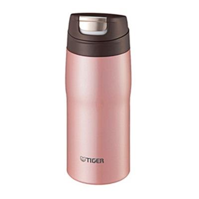 ★TIGER(タイガー) 日本製ワンプッシュオープンステンレスボトル360ml ピンク MJC-A036-P