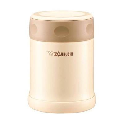 ★ZOJIRUSHI(象印) ステンレスフードジャー350ml クリームSW-EE35-CC