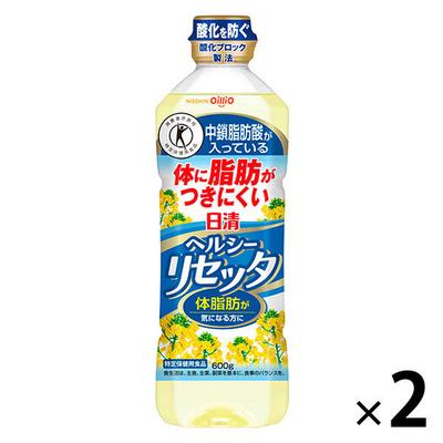【特定保健用食品】日清オイリオ 日清ヘルシーリセッタ 1セット(600g×2本)