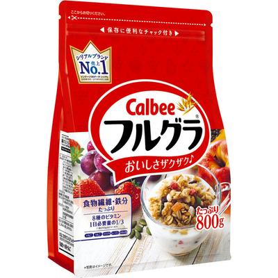 カルビー フルグラ 800g 徳用フルーツグラノーラ 1袋
