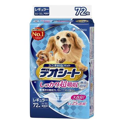 ペット用品 犬  ユニチャーム デオシート レギュラー 72枚