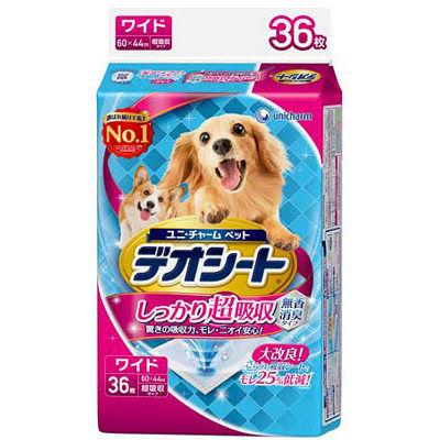 ペット用品 犬 ユニチャーム デオシート ワイド 36枚