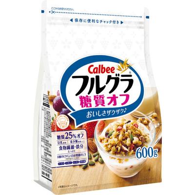 カルビー フルグラ糖質オフ 600g