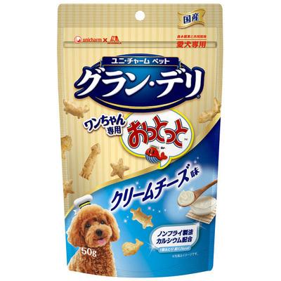 グラン・デリ ワンちゃん専用 おっとっと クリームチーズ味 50g
