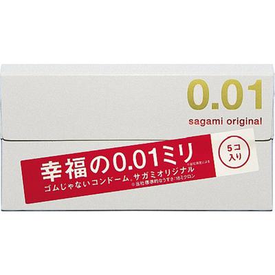 サガミオリジナル 0.01 コンドーム Mサイズ 5個入 薄め