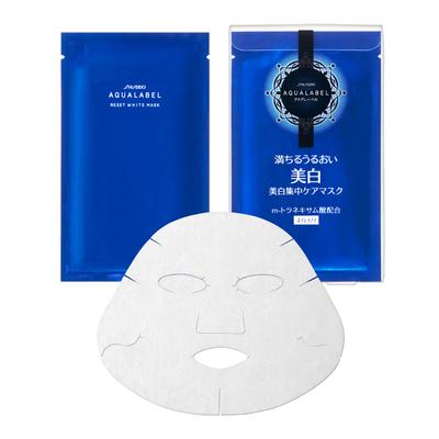 アクアレーベル リセットホワイトマスク <4枚入り> 18mL×4枚