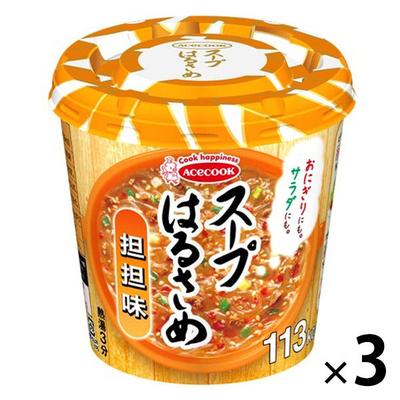 エースコック スープはるさめ 担担味 33g 3個