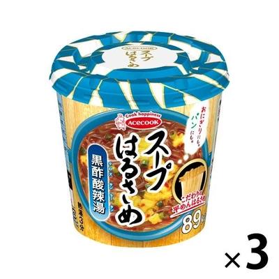 エースコック スープはるさめ 黒酢酸辣湯 34g 3個