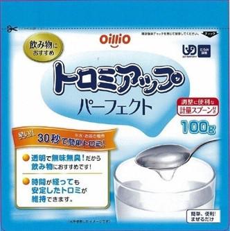 日進オイリオ トロミアップパーフェクト 100g  【ポイント対象】