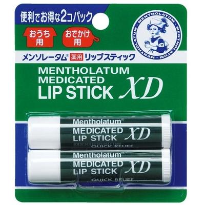 メンソレータム薬用リップスティックXD 4g×2P