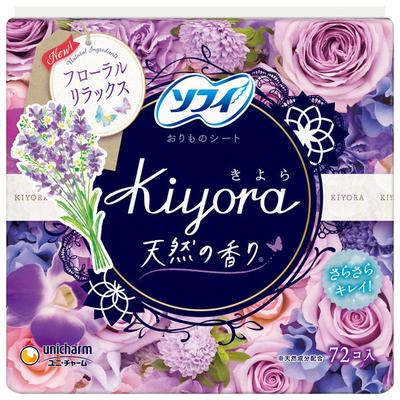 ソフィ Kiyora フローラルリラックス 72枚