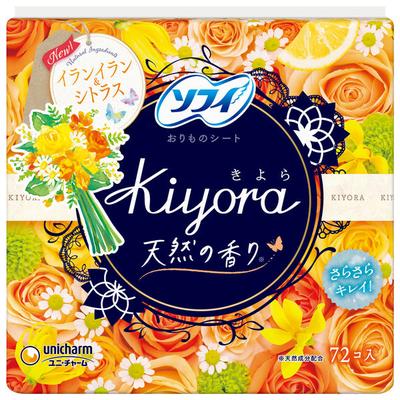 ソフィ Kiyoraイランイラン&シトラス 72枚