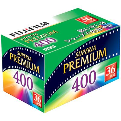 富士フイルム フジカラー SUPERIA PREMIUM 400 135-36枚撮  【ポイント10%還元】