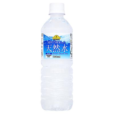 ケース販売/ベストプライス天然水 500ml×24