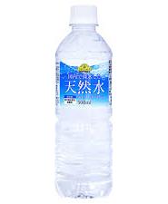 ケース販売/トップバリュベストプライス天然水 500ml×24