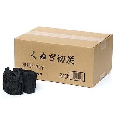 椚切炭(くぬぎ切炭)3kg