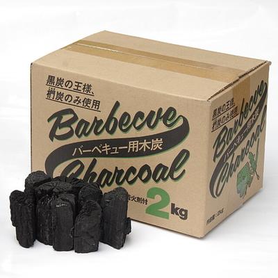 バーベキュー木炭(くぬぎ炭使用)2kg