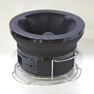 卓上 しちりん(ブラックカラー)国産黒炭付