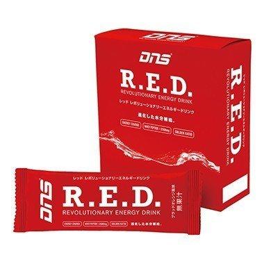 DNS RED レッド レボリューショナリー エネルギー ドリンク スティック ペットボトル対応 ブラッドオレンジ風味 16g 500ml用×10袋