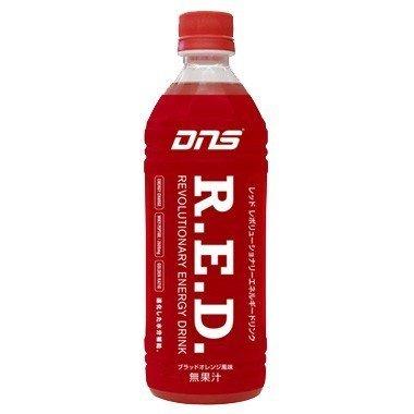 DNS RED レッド レボリューショナリー エネルギー ドリンク ペットボトル ブラッドオレンジ風味 500ml×24本