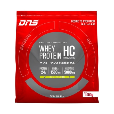 DNS ホエイプロテイン HC HMB クレアチン エナジードリンク風味 1050g 1.05kg 新製品