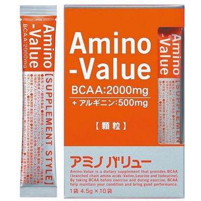 大塚製薬 アミノバリュー サプリメントスタイル グレープフルーツ風味 顆粒4.5g×10袋×5箱