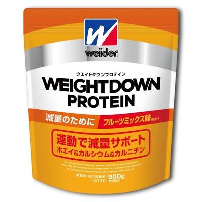 ウイダー ウエイトダウンプロテイン フルーツミックス味 900g C6JMM43300 減量 ダイエット 肉体改造