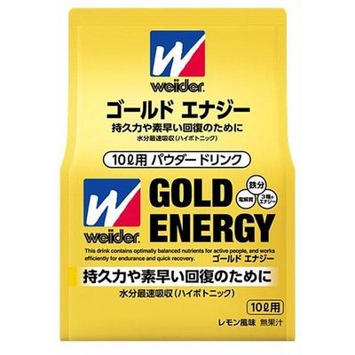 ウイダー ゴールドエナジー 10L用 レモン風味 350g 36JMM68100 持久力 素早い回復 チーム対応 スポーツショップ限定